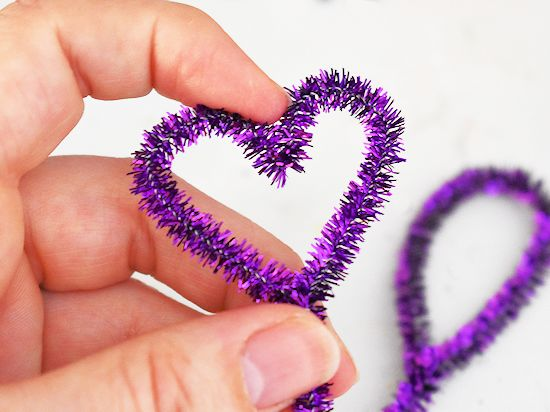 pipe cleaner heart