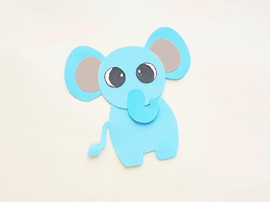 elephant glued