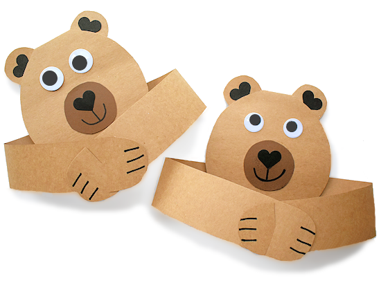 Bear Hug Card styled image.