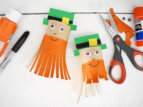 Trim the Leprechaun's Beard Scissor activity.
