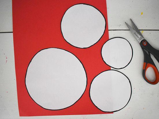 White template circles.